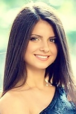 Ukrainian girl Anastasia,22 years old with brown eyes and black hair.