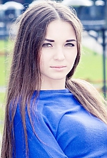 Ukrainian girl Lyuba,21 years old with brown eyes and dark brown hair.