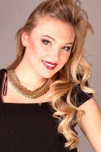 Ukrainian girl Elizaveta,25 years old with green eyes and blonde hair.
