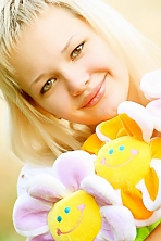 Ukrainian girl Eugenia,28 years old with brown eyes and blonde hair.