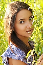 Ukrainian girl Darya,24 years old with brown eyes and dark brown hair.