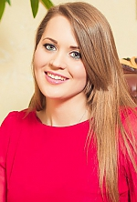 Ukrainian girl Lesya,27 years old with blue eyes and light brown hair.