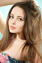 Ukrainian girl Darya,22 years old with green eyes and light brown hair.