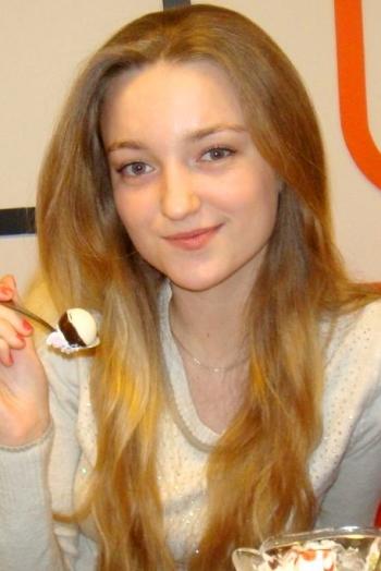 girl Vladislava, years old with  eyes and  hair.
