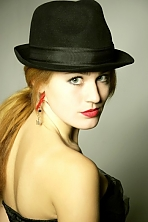 Ukrainian girl Julianna,22 years old with green eyes and red hair.