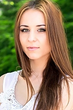 Ukrainian girl Marina,25 years old with green eyes and light brown hair.