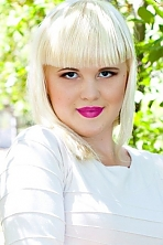 Ukrainian girl Nataliya,24 years old with grey eyes and blonde hair.