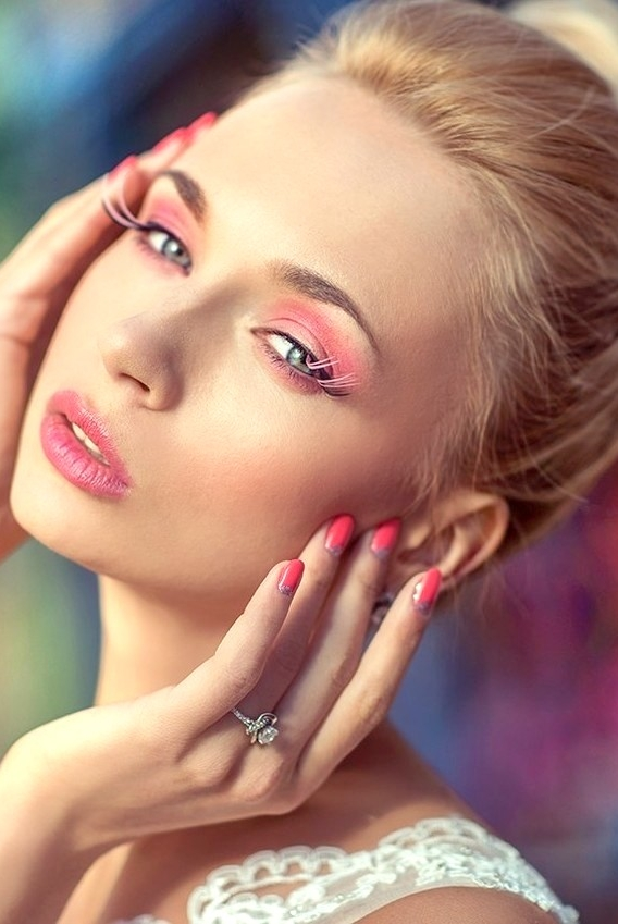 Russian girl Marina,27 years old with blue eyes and blonde hair.