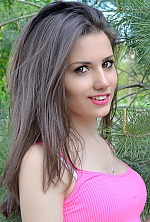 Ukrainian girl Evgenia,22 years old with brown eyes and dark brown hair.