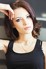 Ukrainian girl Nastia,21 years old with green eyes and light brown hair.