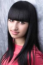 Ukrainian girl Tatiana,21 years old with brown eyes and black hair.