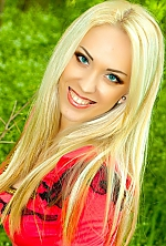 Ukrainian girl Ekaterina,26 years old with grey eyes and blonde hair.