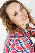 Ukrainian girl Irina,36 years old with green eyes and light brown hair.