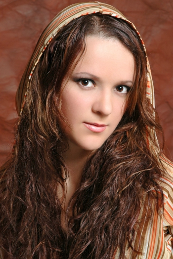 Ukrainian girl Irada,31 years old with brown eyes and dark brown hair.