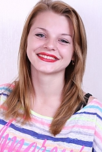 Ukrainian girl Zinaida,22 years old with blue eyes and blonde hair.