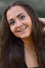 Ukrainian girl Inna,26 years old with hazel eyes and dark brown hair.