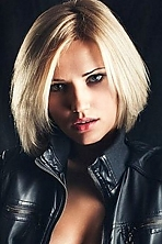Ukrainian girl Elena,27 years old with blue eyes and blonde hair.