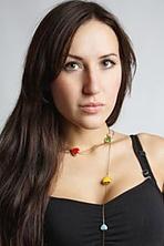 Ukrainian girl Eketerina,26 years old with brown eyes and dark brown hair.