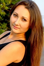 Ukrainian girl Vita,24 years old with brown eyes and black hair.