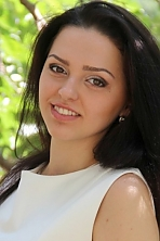 Ukrainian girl Evgeniya,24 years old with brown eyes and black hair.