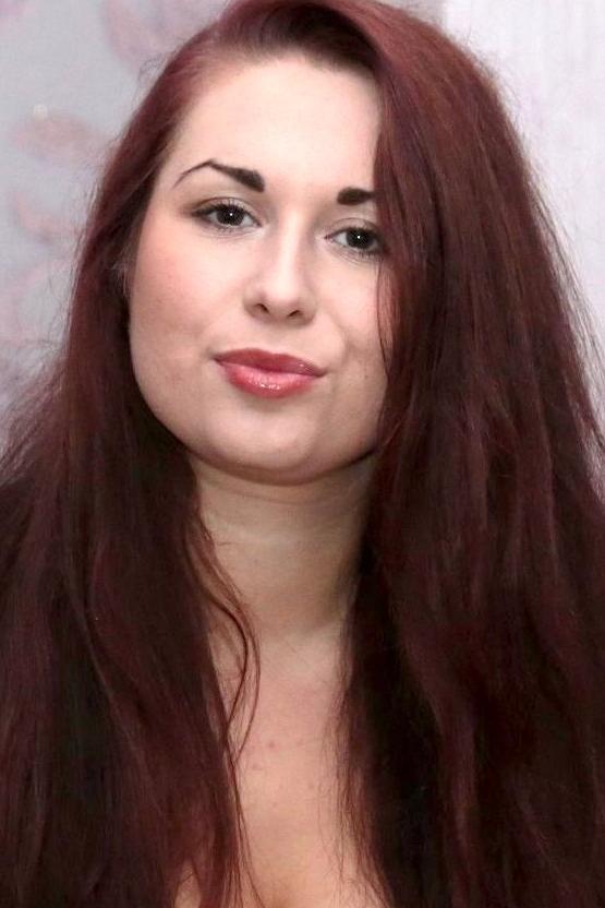 girl Viktorya, years old with  eyes and  hair.
