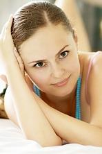 Ukrainian girl Yelyzaveta,37 years old with hazel eyes and dark brown hair.