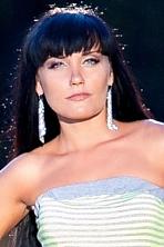 Ukrainian girl Ekaterina,37 years old with blue eyes and black hair.