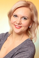Ukrainian girl Liudmila,41 years old with  eyes and  hair.