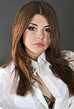 Ukrainian girl Anastasia,23 years old with brown eyes and dark brown hair.