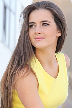 Ukrainian girl Liza,21 years old with green eyes and light brown hair.