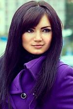 Ukrainian girl Ekaterina,26 years old with black eyes and dark brown hair.