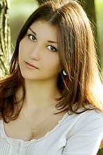Ukrainian girl Olesya,22 years old with brown eyes and light brown hair.