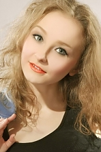 Ukrainian girl Janina,27 years old with green eyes and light brown hair.