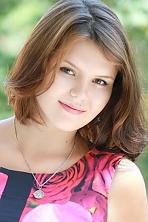 girl Ksenya, years old with  eyes and  hair.