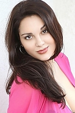 Ukrainian girl Lyudmila,22 years old with hazel eyes and dark brown hair.