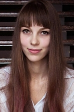 Ukrainian girl Dariya,20 years old with grey eyes and light brown hair.