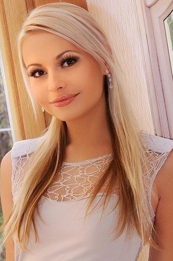Ukrainian girl Anastasiya,26 years old with hazel eyes and blonde hair.