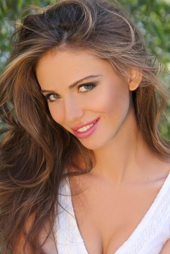 Ukrainian girl Daria,28 years old with green eyes and light brown hair.