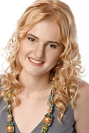 Ukrainian girl Olga,29 years old with brown eyes and blonde hair.