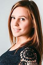 Ukrainian girl Vita,21 years old with brown eyes and dark brown hair.