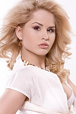 Ukrainian girl Oksana,30 years old with  eyes and  hair.