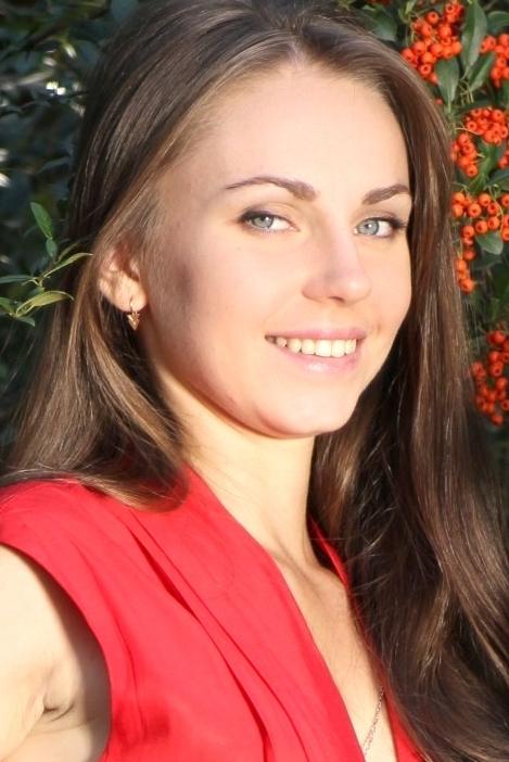 girl Juliya, years old with  eyes and  hair.
