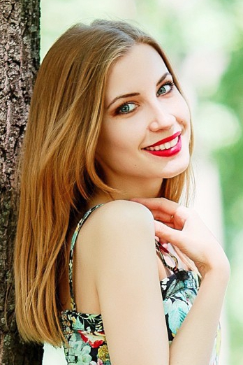 Ukrainian girl Valeria ,22 years old with blue eyes and blonde hair.