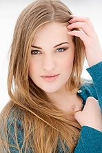Ukrainian girl Margarita,23 years old with green eyes and light brown hair.