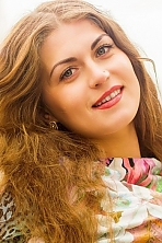 Ukrainian girl Katerina,27 years old with blue eyes and light brown hair.