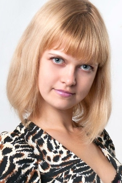Ukrainian girl Yana,27 years old with blue eyes and blonde hair.