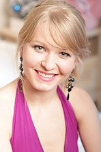 Ukrainian girl Marina,30 years old with green eyes and blonde hair.