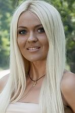 Ukrainian girl Tatiana,27 years old with blue eyes and blonde hair.