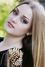 Ukrainian girl Daria,20 years old with green eyes and light brown hair.