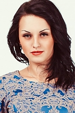 Ukrainian girl Viktoria,21 years old with green eyes and black hair.